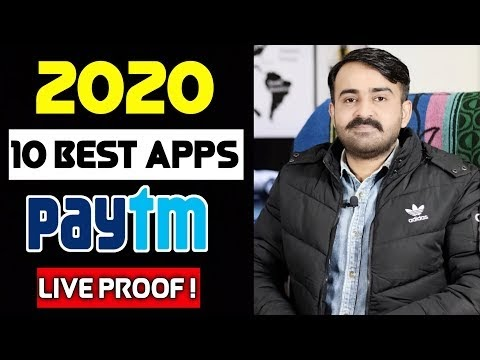 Top 10 Paytm Cash Earning Apps In 2020 | Best 10 Earning Apps For Android | Earn Money Online 2020