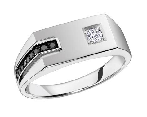 Match The Women With Trendy Mens White Gold Rings