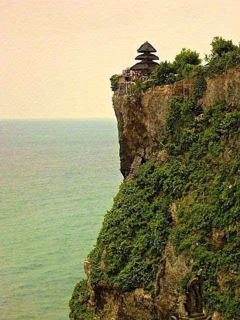 Uluwatu, Bali.  And Allah has truly blessed His servants with the bounty and beauty of His creation.............