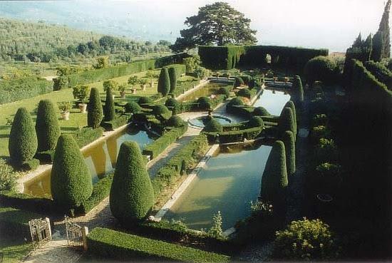 Villa Gamberaia Settigliano (Firenze), Italia