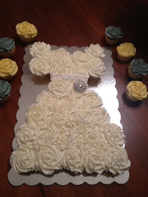 Wedding dress cupcakes   Sweets   Wedding dress cupcakes