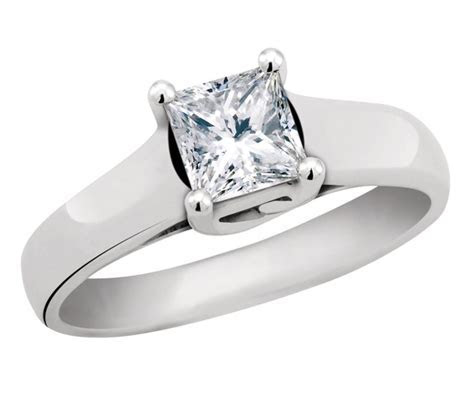 GLACIER FIRE CANADIAN DIAMOND 1.00CT PRINCESS CUT
