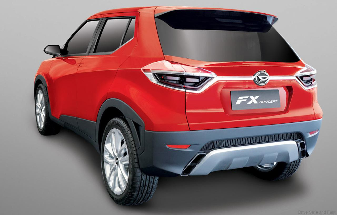Is this the all new Perodua SUV?