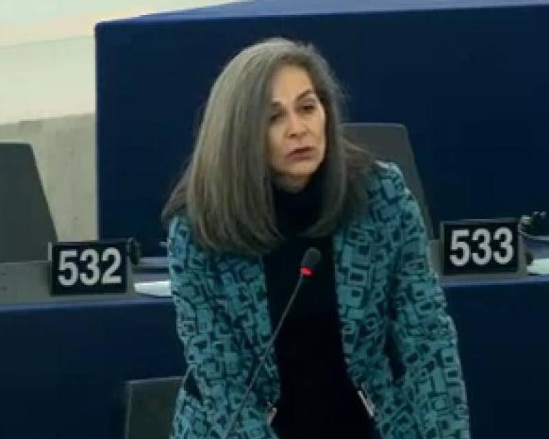 """Σοφία Σακοράφα: """"Η συνέχιση αυτής της πολιτικής συνιστά πλέον ευθεία επίθεση σε κάθε έναν Έλληνα και ευρωπαίο πολίτη"""""""