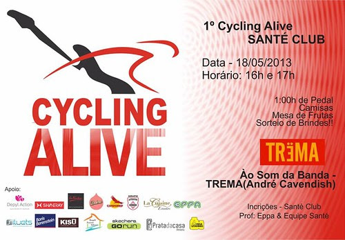 Cycling Alive Santé Club by Mega Vitaminas