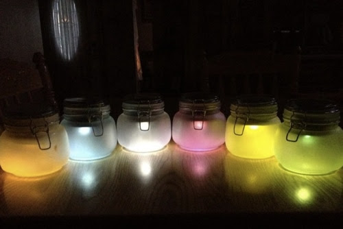 How To Make Solar Outdoor Colored Lights  Homestead  Survival