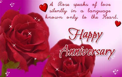 Happy Anniversary With Roses! Free Happy Anniversary