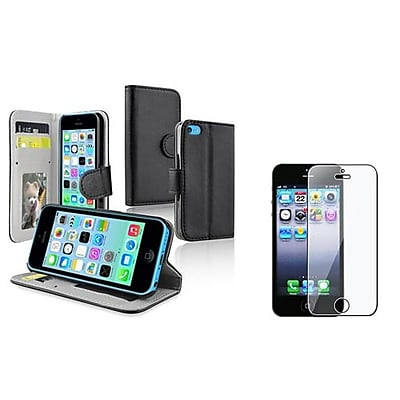 DEALS Insten 1387477 2-Piece iPhone Case Bundle For Apple iPhone 5/5S/5C LIMITED