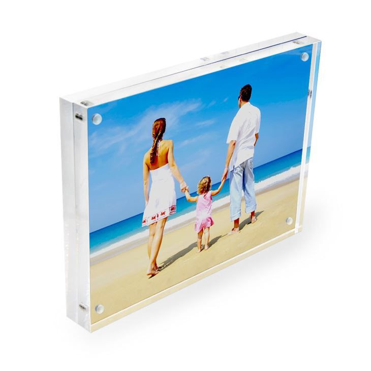 Custom Double Side Durable Magnetic 8x10 Inch Free Standing Acrylic
