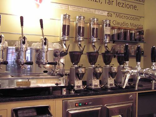 (1/2 of the) Single origin espresso offerings @ Caffe del Doge, Rialto