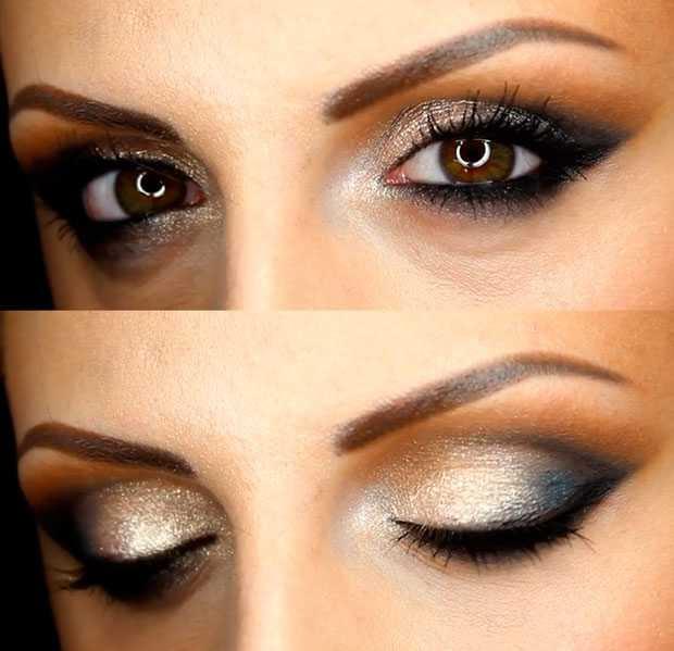 Trucco occhi castani con capelli castani e pelle chiara Donnaclick - trucco  per occhi castani e 1d1671fbe313