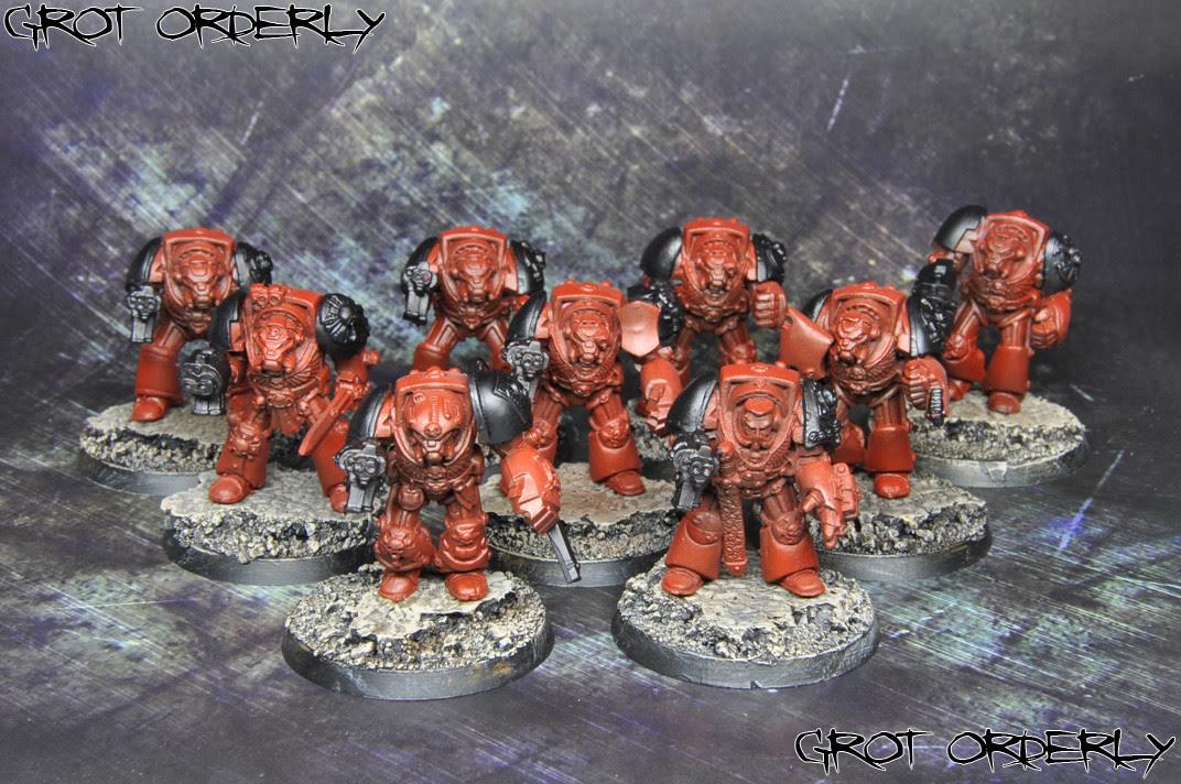 grot, orderly, games, workshop, flesh tearers