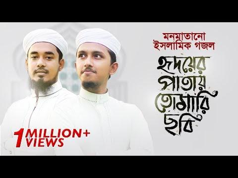 মন মাতানো ইসলামিক গজল । Hridoyer Patay Tomari Chobi । Tawhid Jamil । Salman Sadi