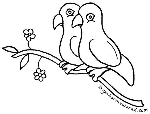 Populer Gambar Burung Di Atas Pohon Gambar Tato Gambar Tato