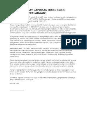 Contoh Surat Hasil Tes Keperawanan