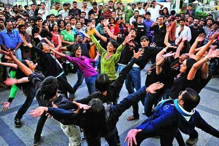 Flash Mob   Planet Salsa India   Service Provider in