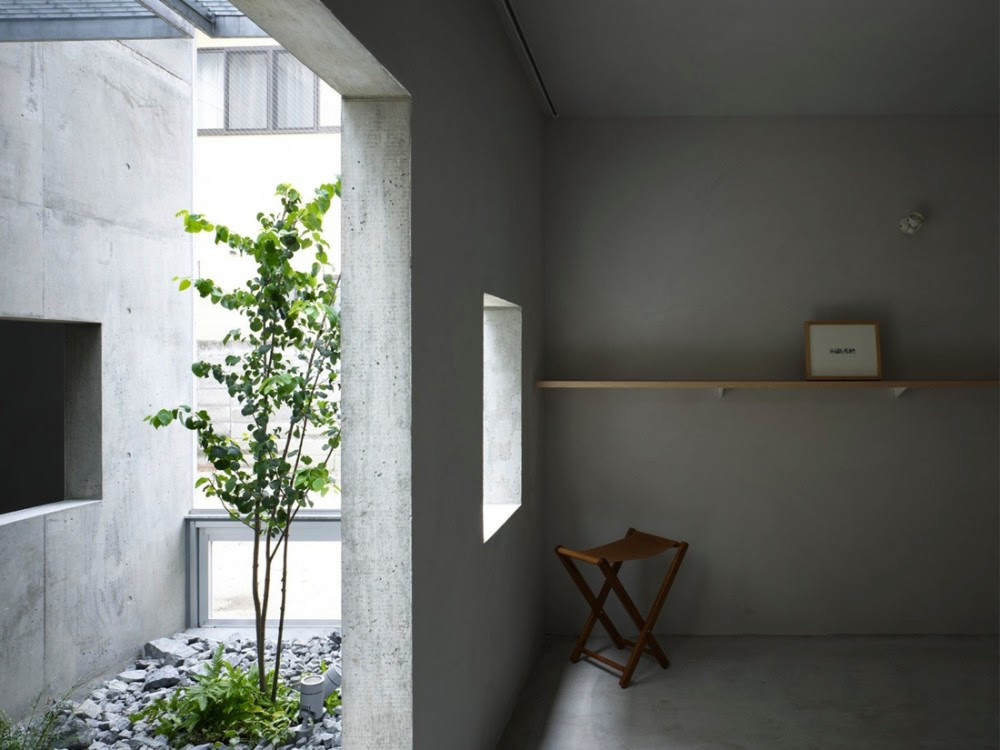 House in Koamicho, Suppose Design Office, Architecture, Concrete, Design, House