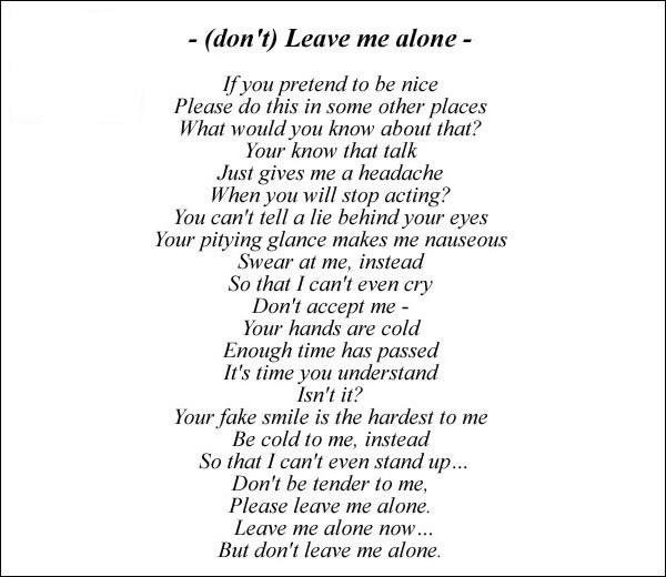 Ayumi Hamasaki Dont Leave Me Alone