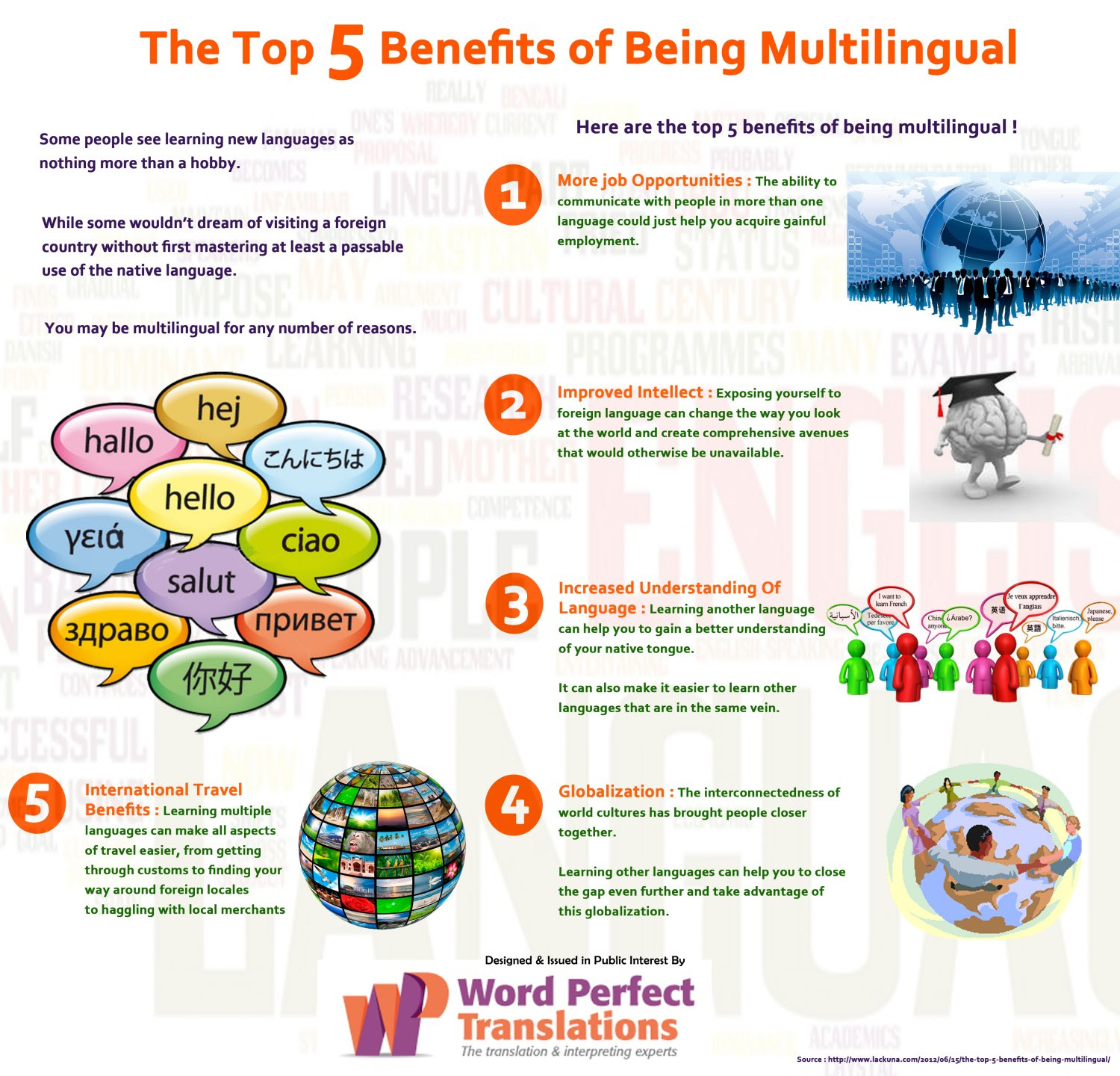 The 5 Benefits of Learning A New Language | Educational ...
