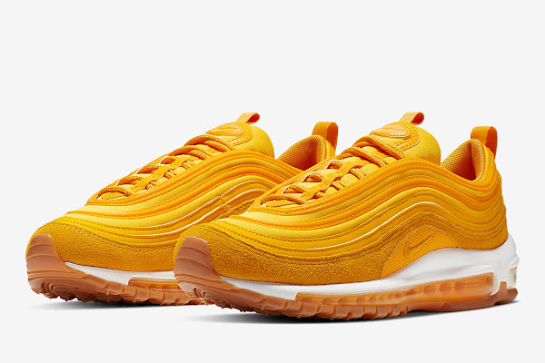 hot sale online 6e6c0 1c63d The Nike Air Max 97 Goes Full Mustard Yellow