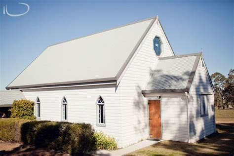 Hunter Valley Wedding Venue: Little White Chapel, Lovedale