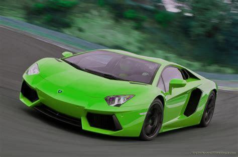 Green Lamborghini Aventador Wallpaper   image #56