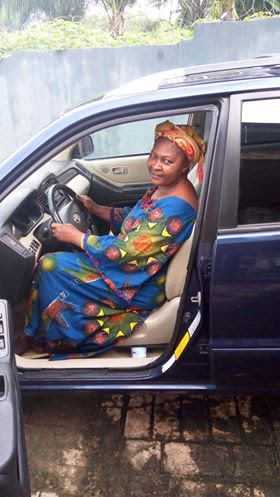 Nigerian Big Boy, Escoba Smith's Brother Buys Mum A Car On Her Birthday On 1st Oct.