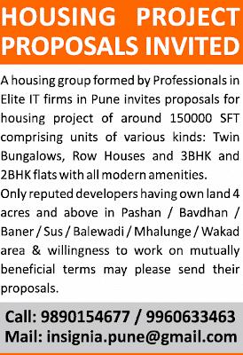 Ravi Karandeekar S Pune Real Estate Market News Blog Is It An