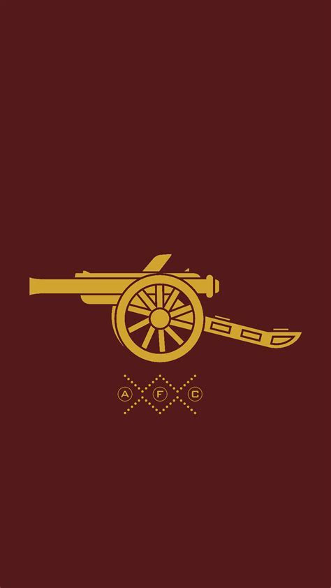 Simplistic mobile wallpaper : Gunners