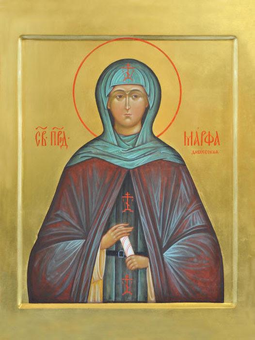 img ST. MARTHA Semenovna MIlyukova  of Diveyevo Monastery