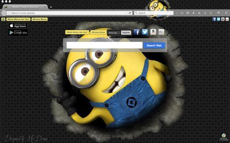 Top Minions Movie Chrome & iPhone Wallpapers for 2015