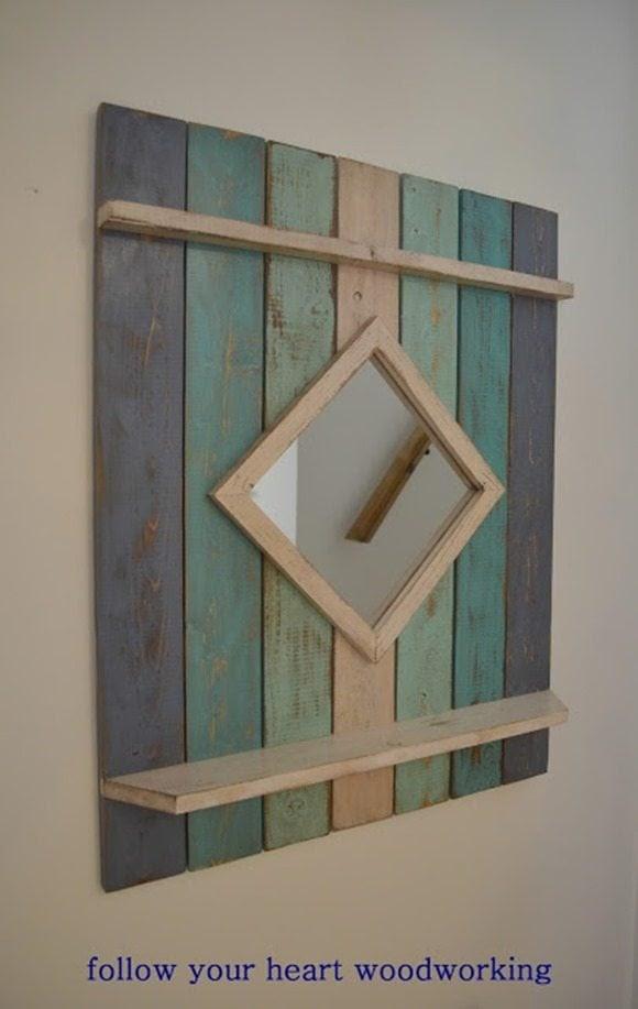 beach style mirror