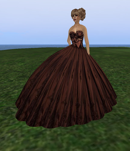 Flashette Gown