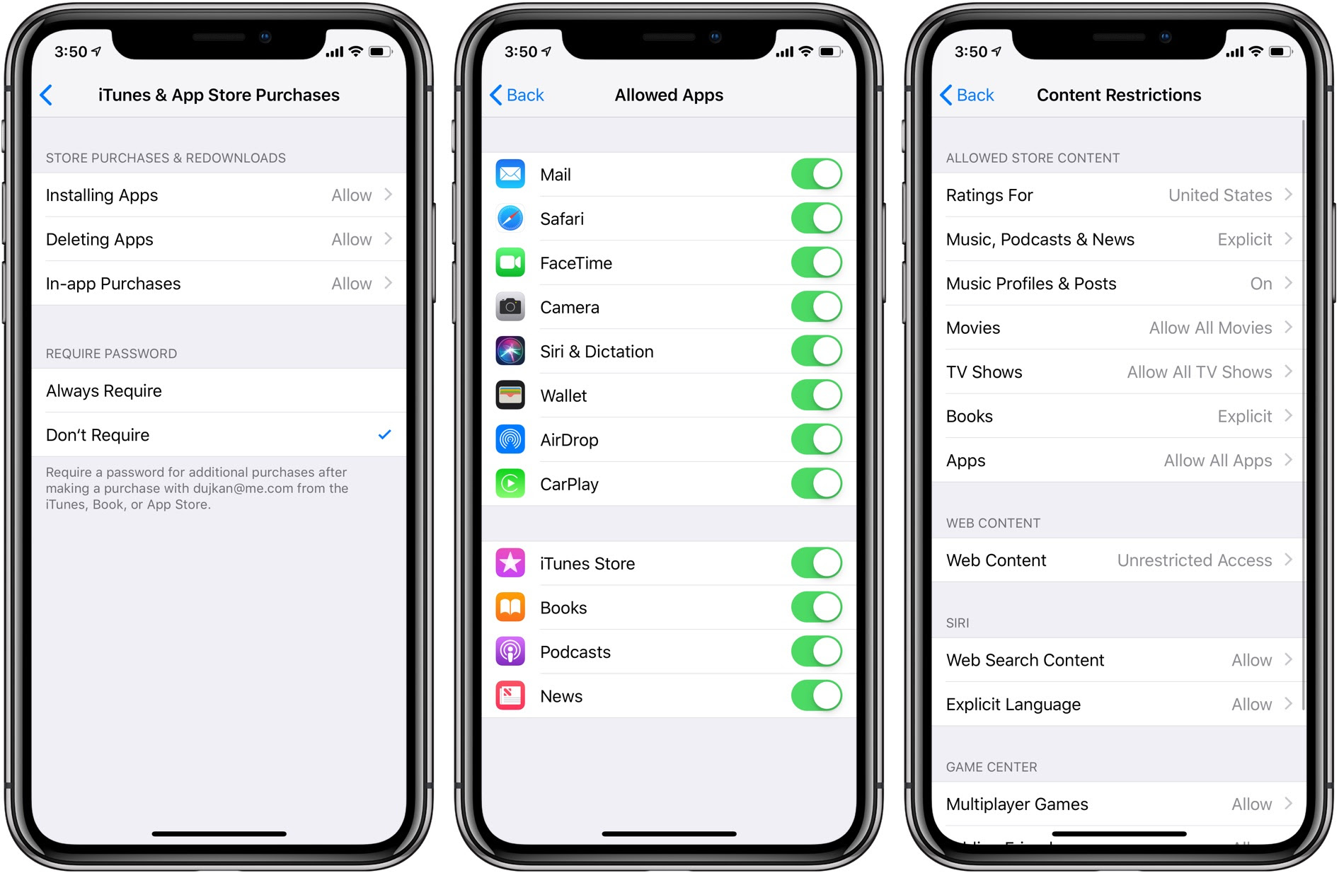 How to access iPhone and iPad Restrictions & Parental ...