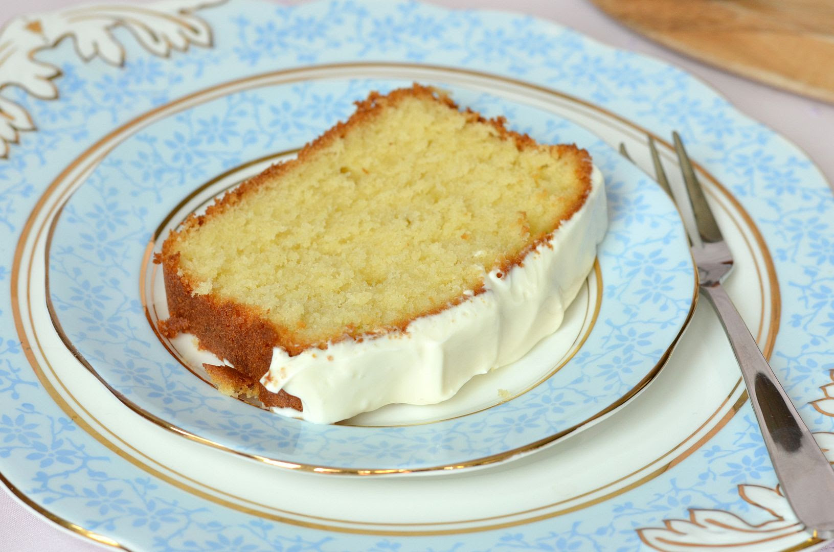 Lemon Yoghurt Madeira Loaf Cake