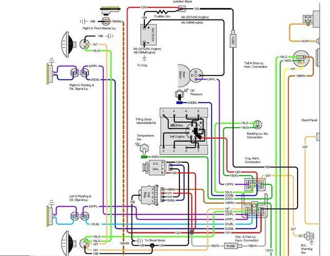 Wiring Diagram: 6 1968 Camaro Wiring Harness Diagram