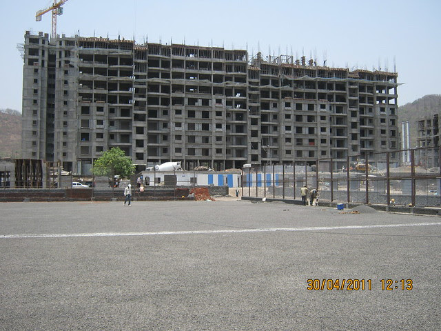 View of Sparklet - Megapolis Smart Homes 1 from the Tennis Courts - Common Sports Amenities in Megapolis