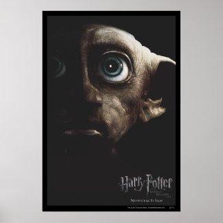 Deathly Hallows - Dobby print