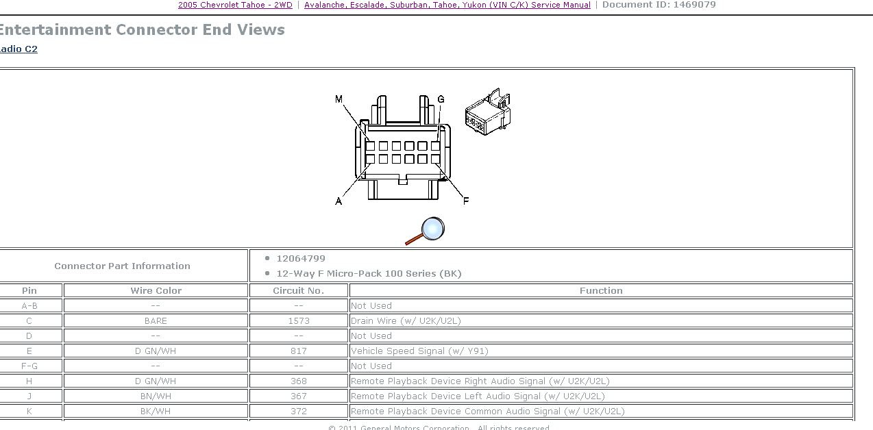 29 2002 Chevy Suburban Radio Wiring Diagram Wiring Diagram List