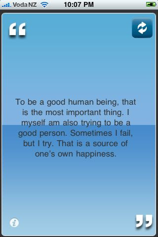 To Be A Good Human Being That Is The Most Important Thing I Myself