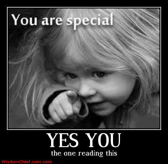 You Are Special Yes You The One Reading This Missing You Quote