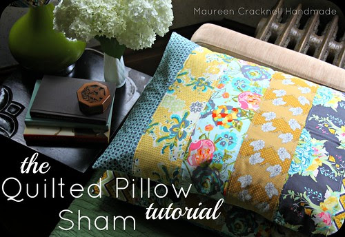 The Quilted Pillow Sham Tutorial 3