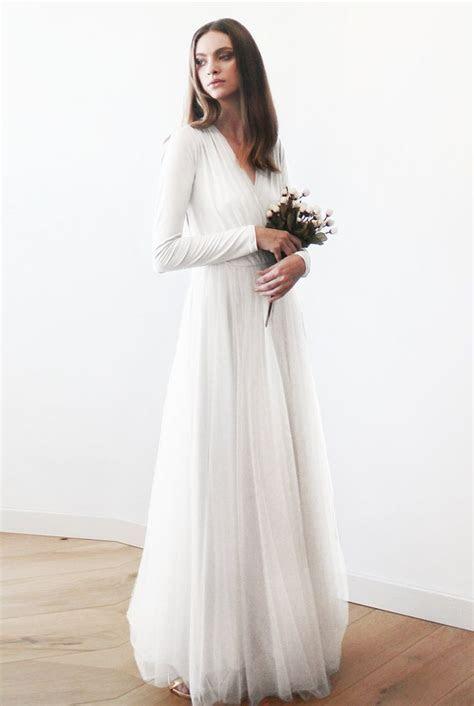 50 Beautiful Long Sleeve Wedding Dresses   Beautiful Long