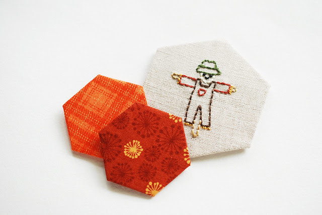 Autumn Stitching Club Hexagons