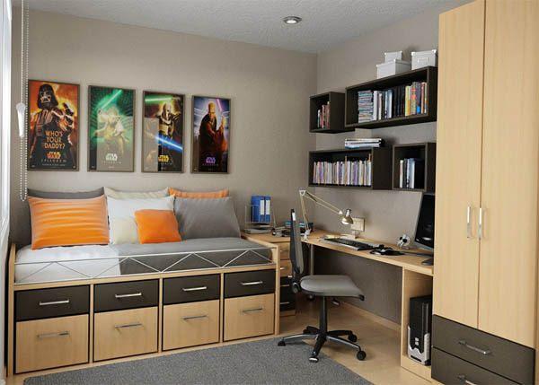 25 Ideas De Diseño De Habitaciones Para Chicos Adolescentes Arkihome