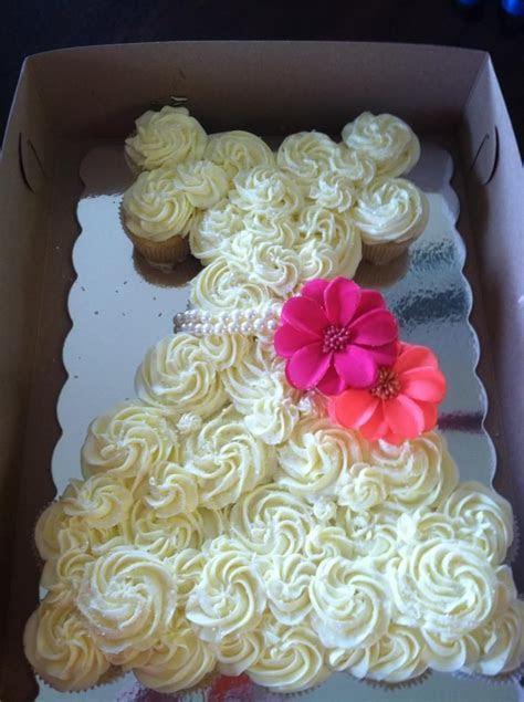 Wedding Dress cupcake cake. gourmetsnacking@yahoo.com