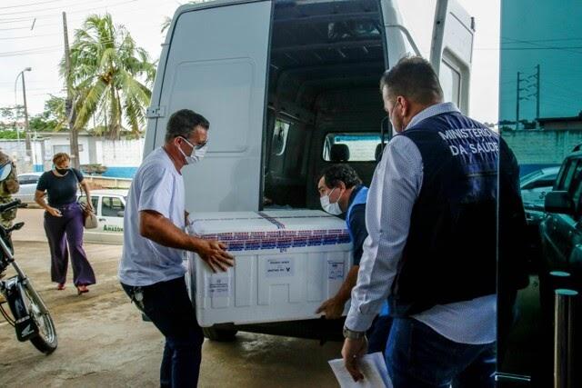 Rondônia recebe mais 17 mil doses de vacina contra Coronavírus