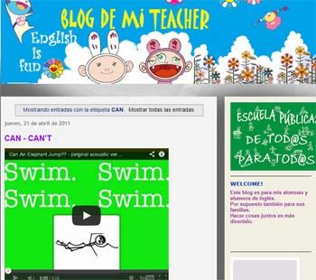 Blog de mi teacher. English is fun