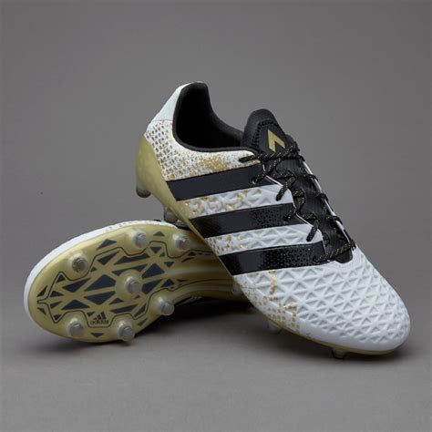 adidas ACE 16.1 FG/AG   Mens Boots   Firm Ground   White
