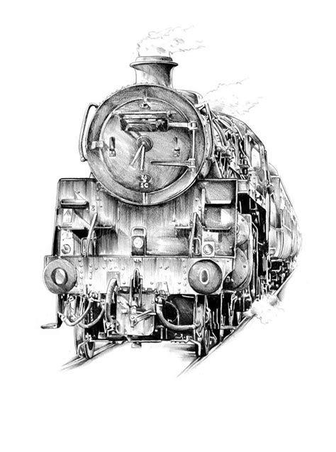 Old Steam Locomotive Engine Retro Vintage Stock